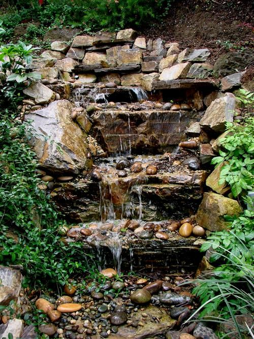 Waterfall Designed And Created So Perfectly It Doesn T Look Man