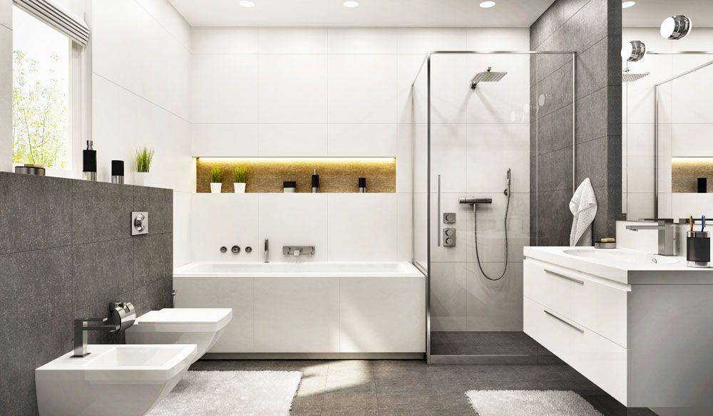 Modern Luxury Bathroom Interior, Complete Bathroom Designs
