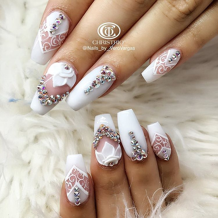 70 Most Beautiful 3d Nail Art Design Ideas For Trendy Girls: Consulta Esta Foto De Instagram De @nails_by_verovargas