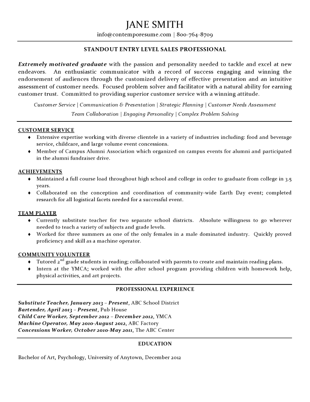 Entry Level Sales Cover Letter from i.pinimg.com