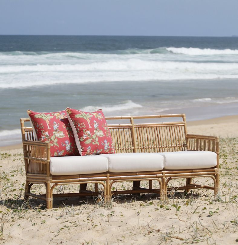 Tribeca Daybed Rattan Chairs, , Outdoor Cushions