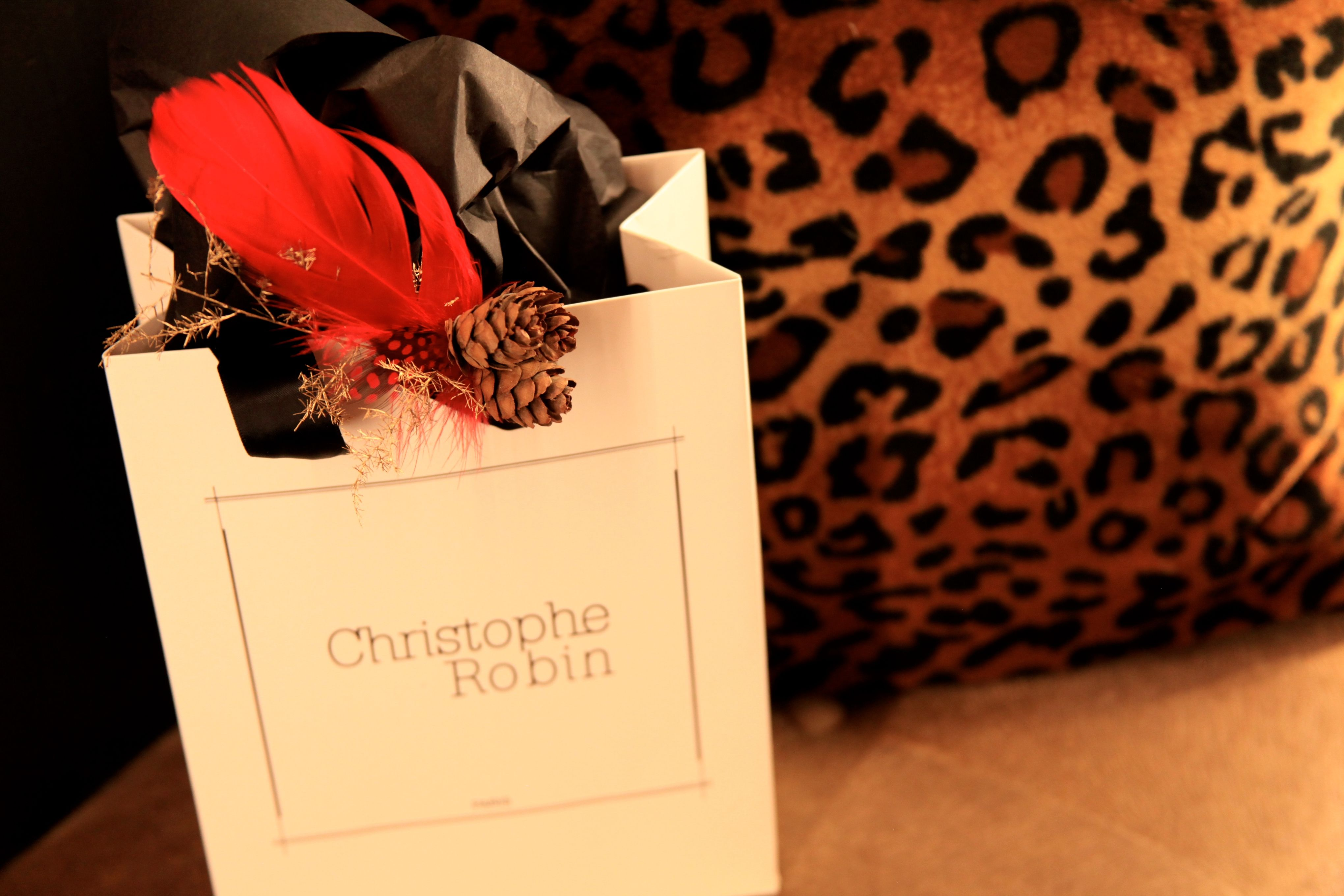 Salon Christophe Robin Holiday Decoration On My Little Gift Bags Christophe Robin