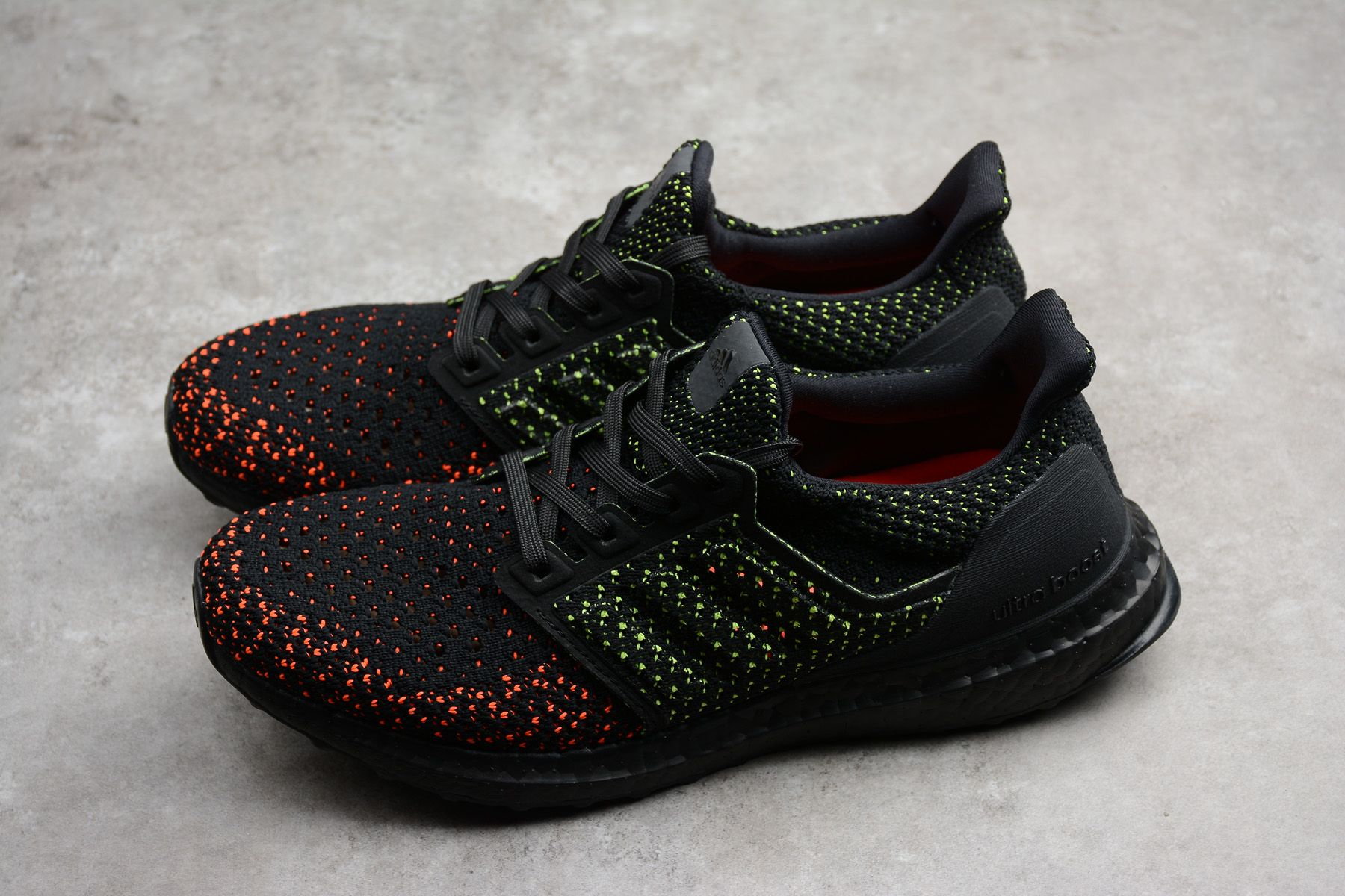 e8a3ba1ed Cheap adidas Ultra Boost Clima Core Black Solar Red AQ0482 Shoes for men  Online Sale