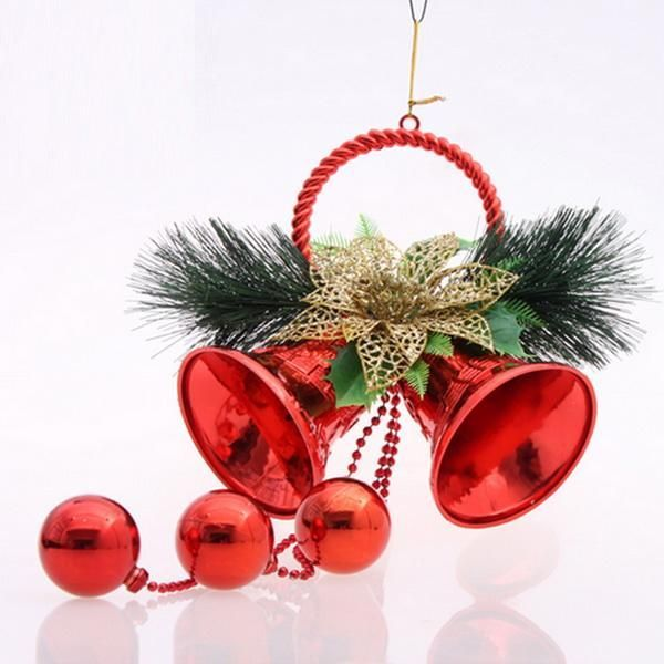 Jingle Bells Christmas Pendant  Drop Ornaments Large Tree Ornament