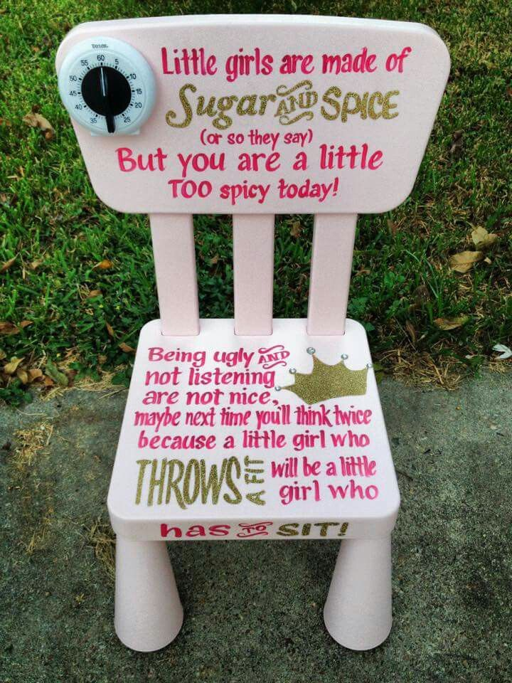 chair for toddler girl patio feet inserts how to send your daughter a time out in the patriarchy diy replace ugly of course what fuck were these people thinking sowing seeds body image related insecurities like that