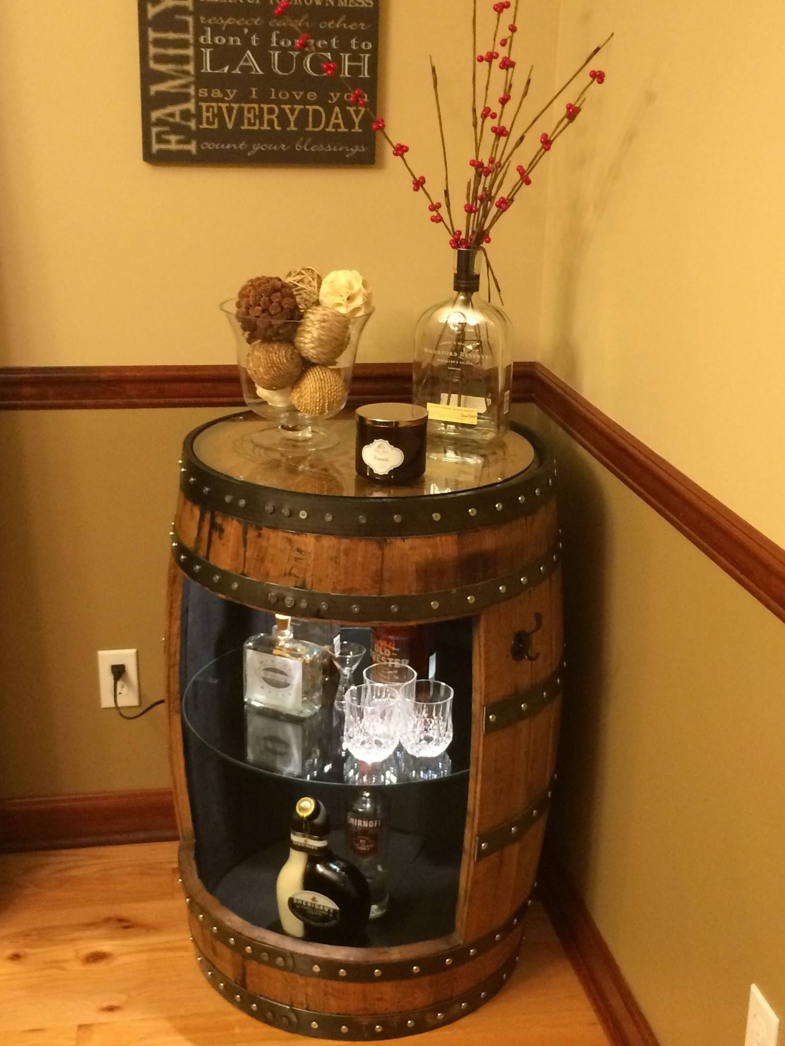 Check out our website for more photo's. Call if you would like a custom KY bourbon barrel.