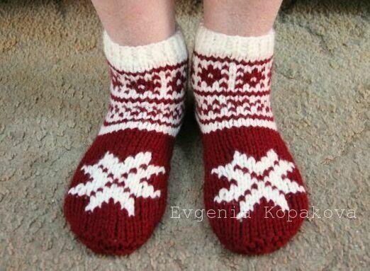 Тапочки носочки своими руками фото 475