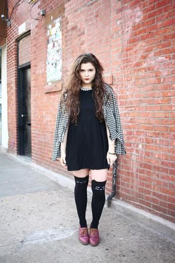Best Outfit Ideas For Fall And Winter , How 20 Fashion Girls Wear Knee,High  Socks , FlashMag , Fashion \u0026 Lifestyle Magazine