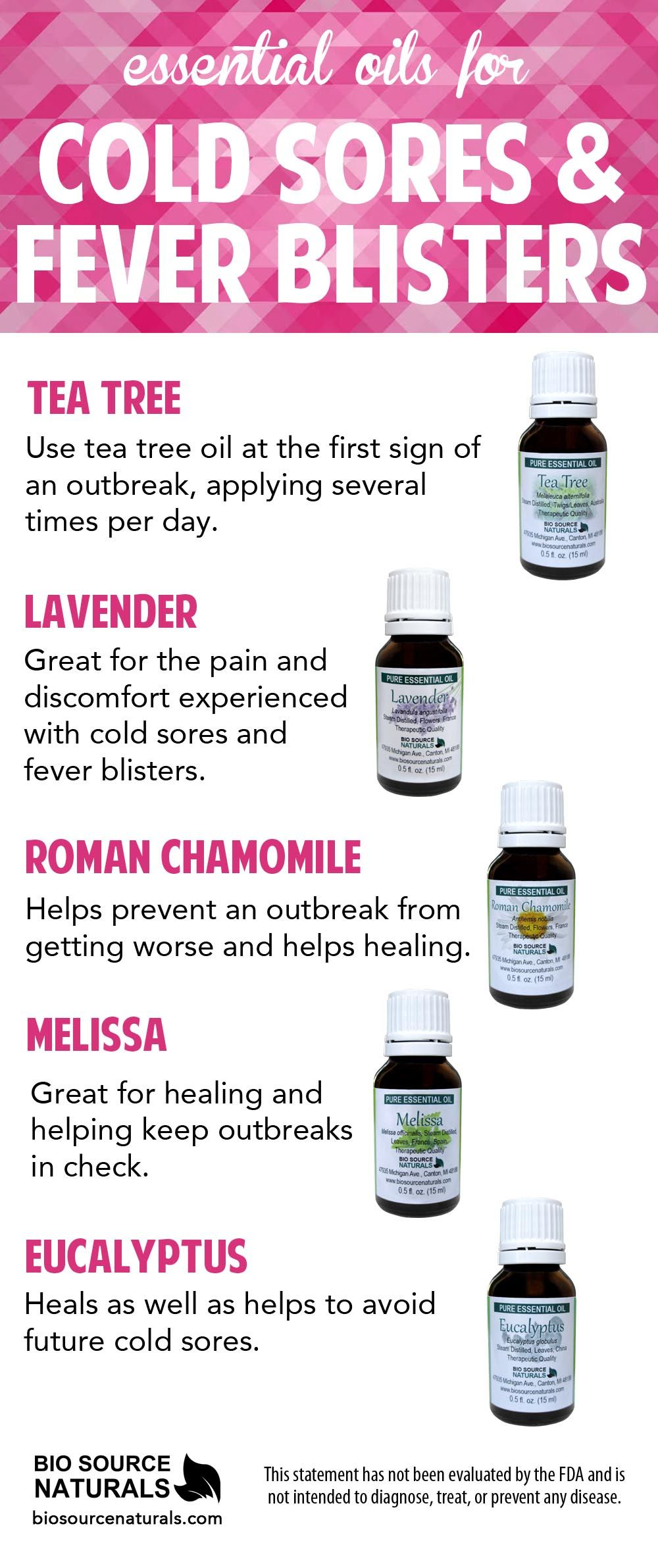 Essential Oils For Cold Sores Healing Support Fever Blisters