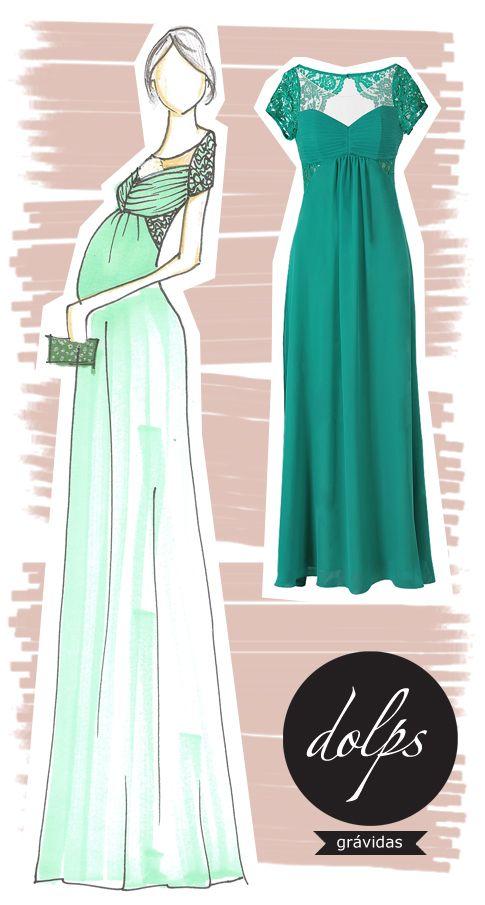 Vestidos Grávida - www.dolps.com.br