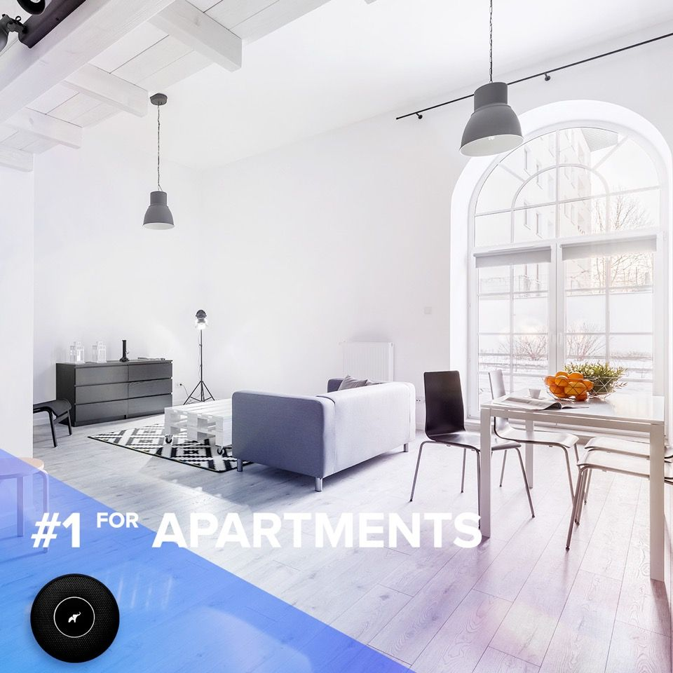 Dream apartment needs modern safety. Feel safe, it\'s simple ...