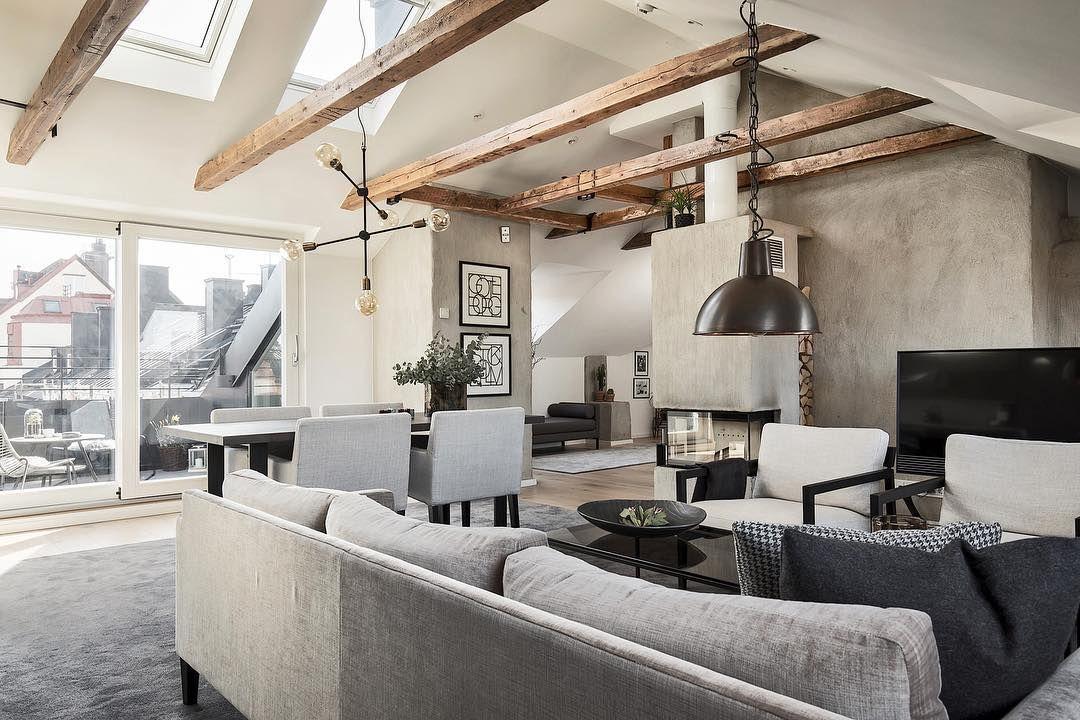 dachwohnung skandinavisch minimalistisch | boodeco.findby.co