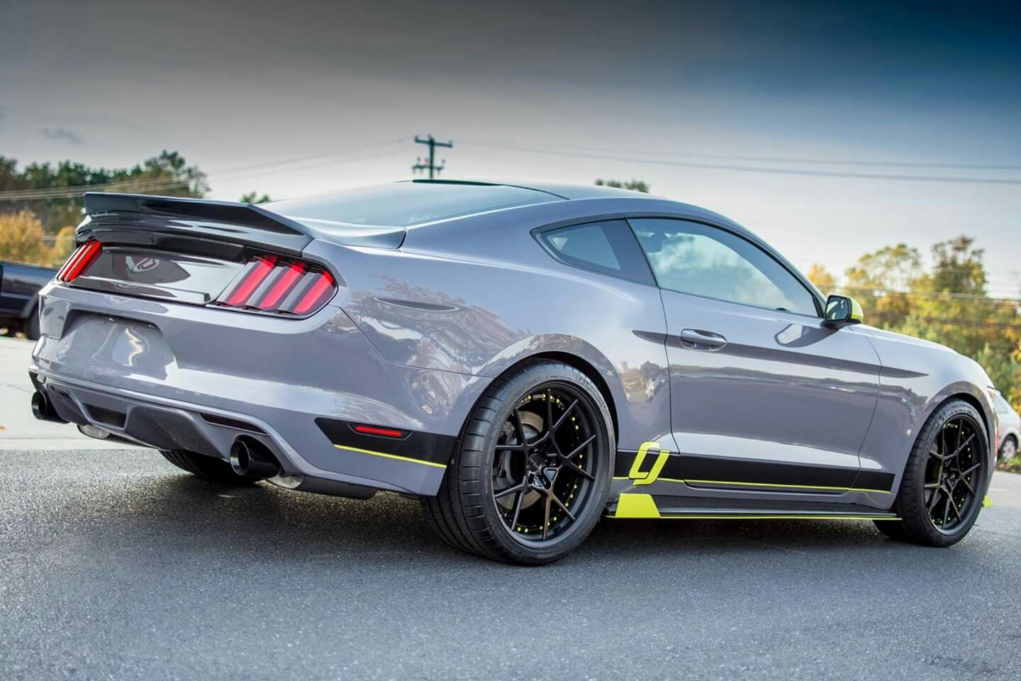 2017 ford mustang ecoboost sema build