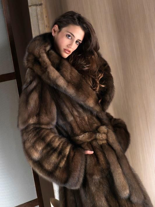 Sable Fur Coat, How Much Is A Sable Coat