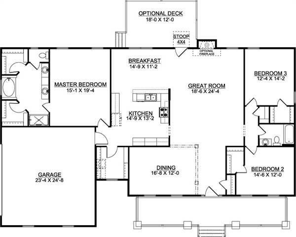 Americas Home Place The Avondale D House Plans Custom Home Plans House Floor Plans