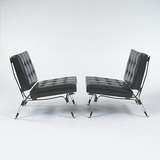 Ico Parisi 856 Lounge Chairs For Cassina 1955 Poltrone