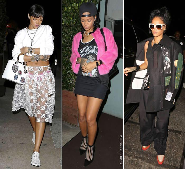 Rihanna Popular Outfits