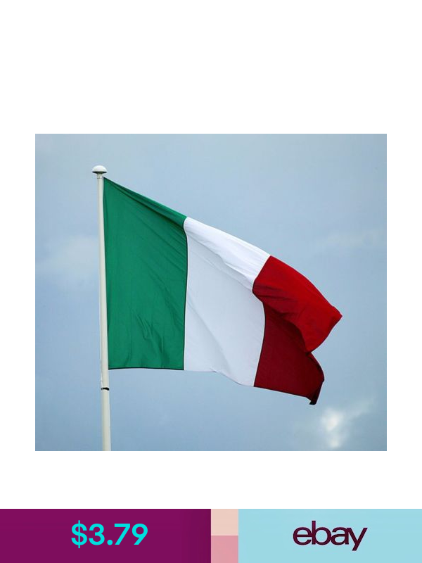 Italy No Flagpole Outdoor Flying Flag High Quality Italian Flag Indoor Polyester Flying Flag Italian Flag Outdoor