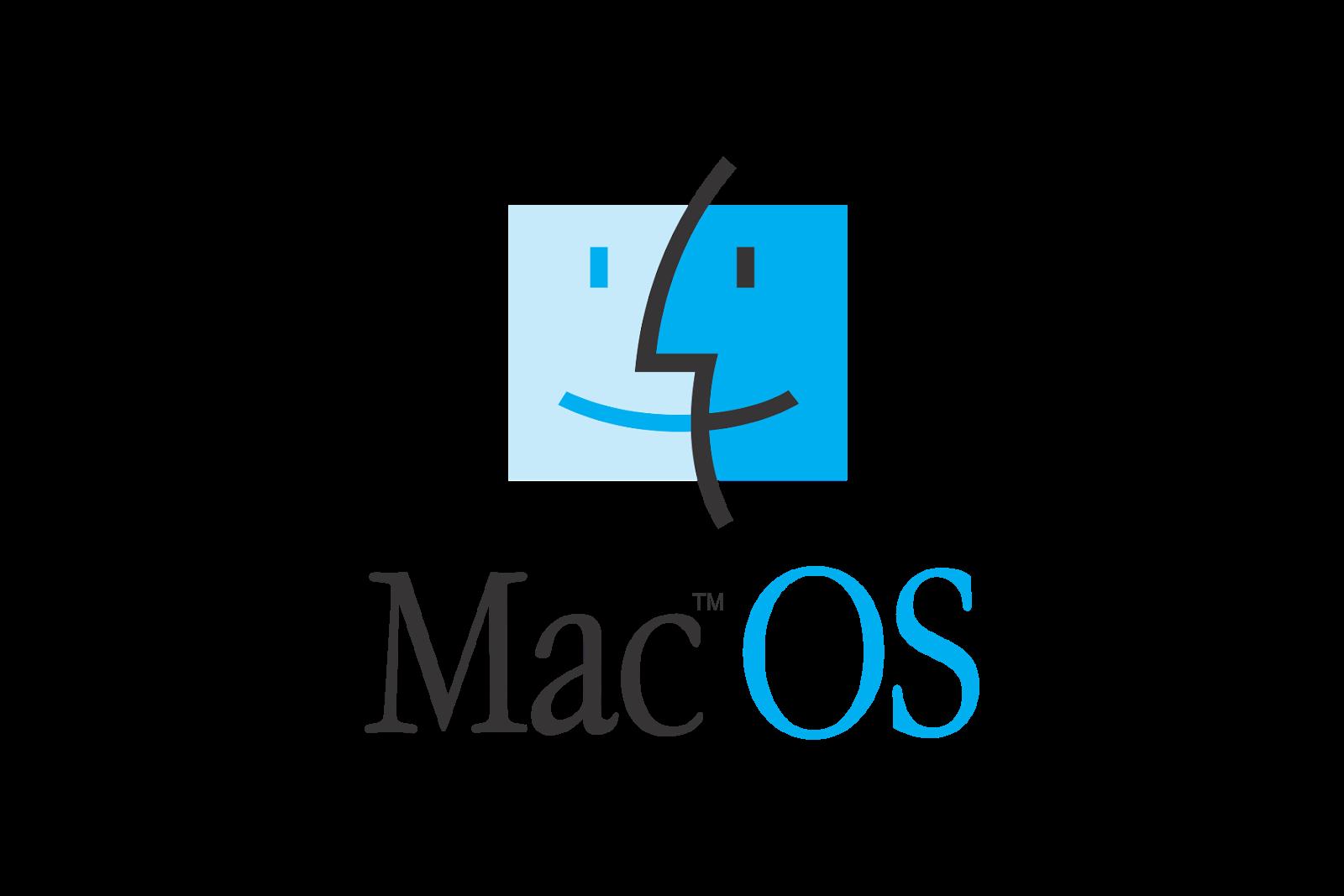 Mac OS Logo Apple computer, Mac os, Mac