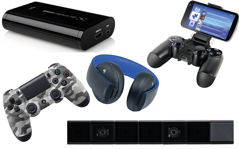 Ps4 Accessories The Latest Playstation 4 Accessories Playstation Videojuegos Consolas