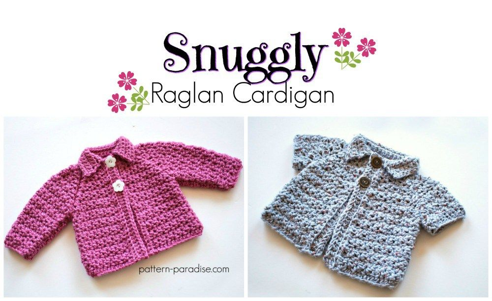 Free crochet pattern for baby and toddler cardigan sweater by ...