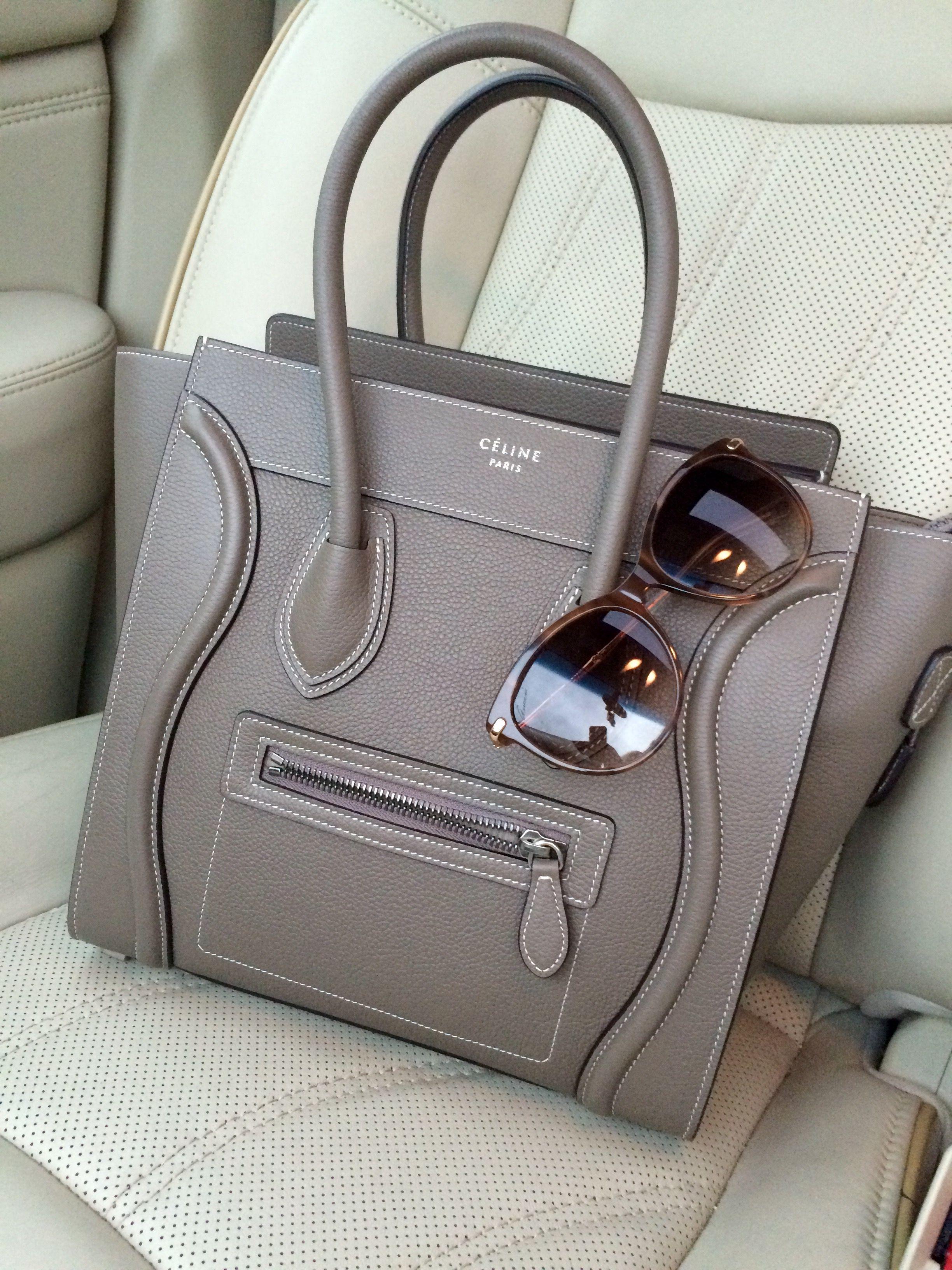 Celine Micro Handbag in Souris  GucciGlasses  3846adce0e0d3