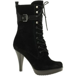 Guess Jerina 2 Lace Up Heeled Boots