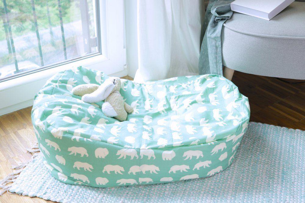 Photo of Babybettchen und Kindersitzsack nähen – DIY Eule
