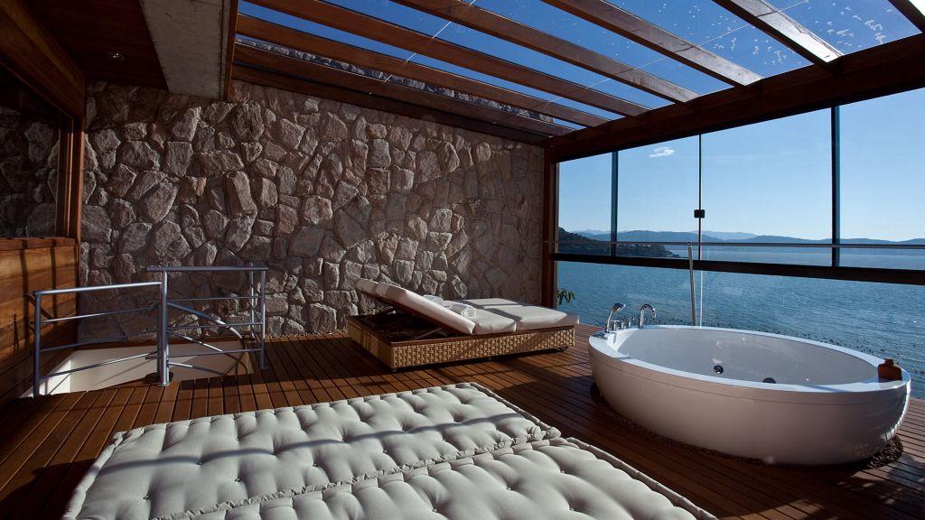 Exclusivo Ponta dos Ganchos Resort -  situado em Florianópolis. Luxo, Aconchego e Privacidade são destaque.....
