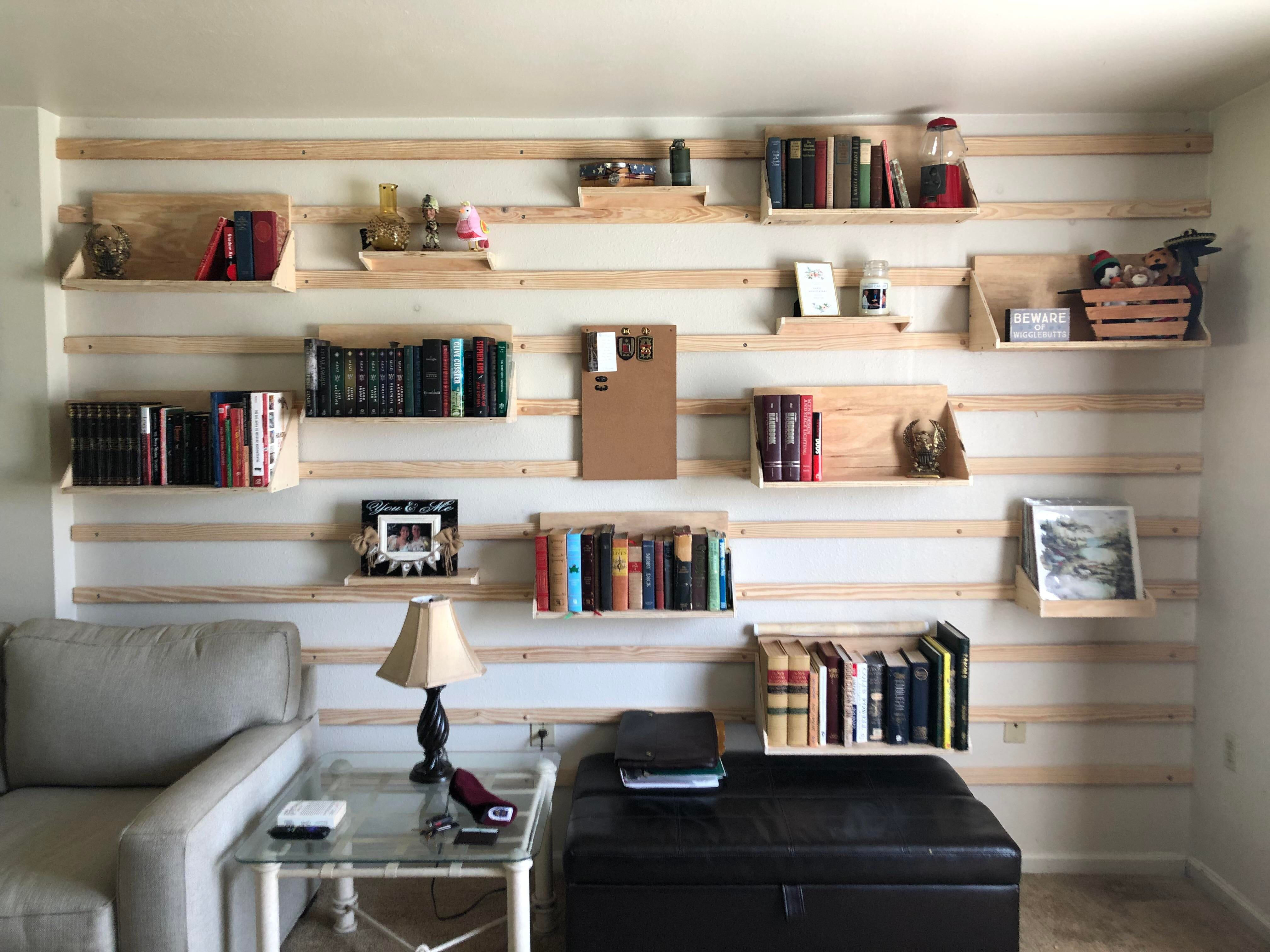 French Cleat Wall French Cleat Shelves Woodworking Plans Wood Projects