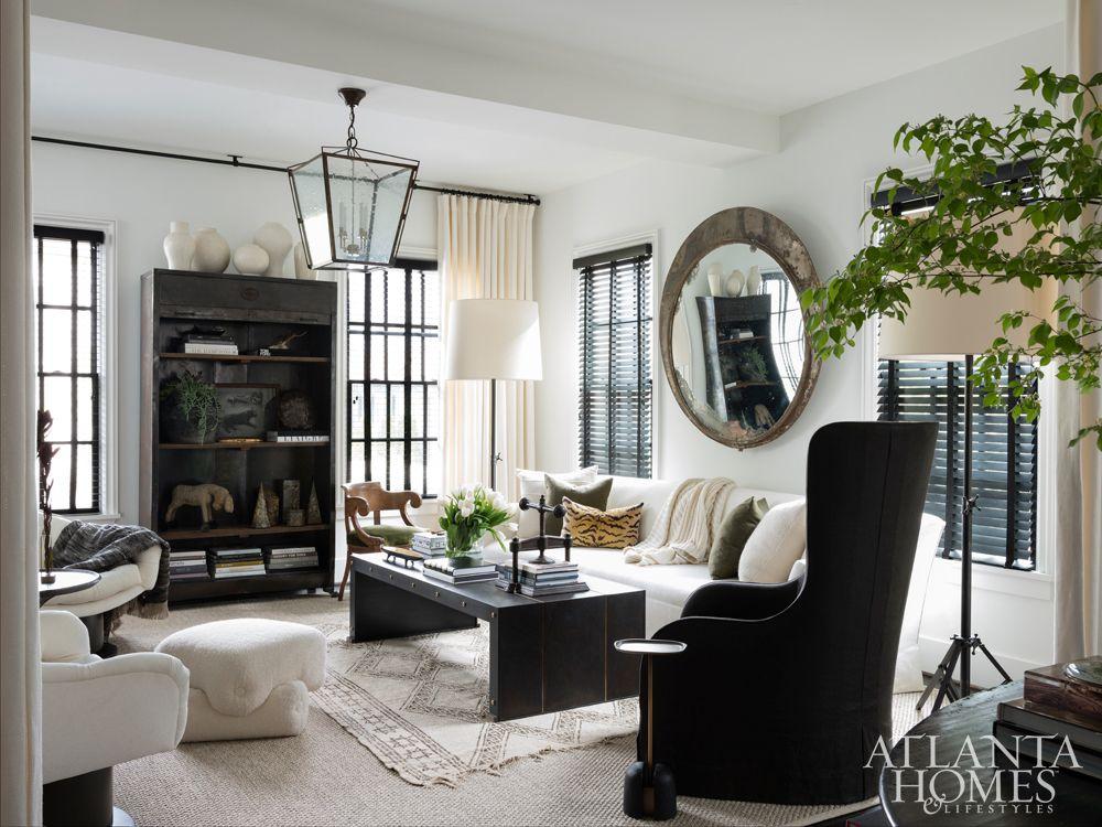 Interior designer Susan Ferrier, a confidante, suggested a
