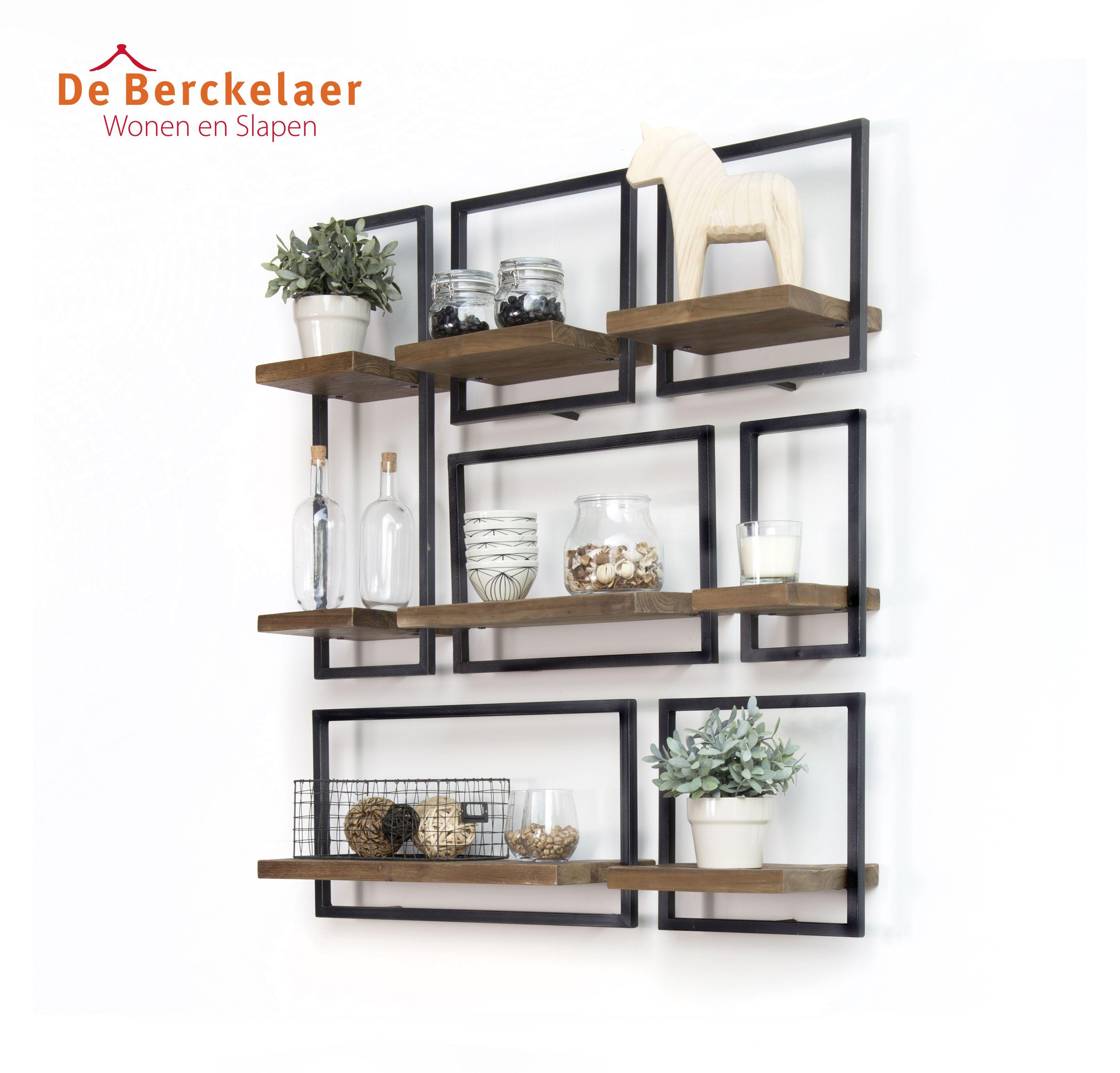 Shelfmate is een uniek schappen systeem dat bestaat uit for Wanddecoratie woonkamer