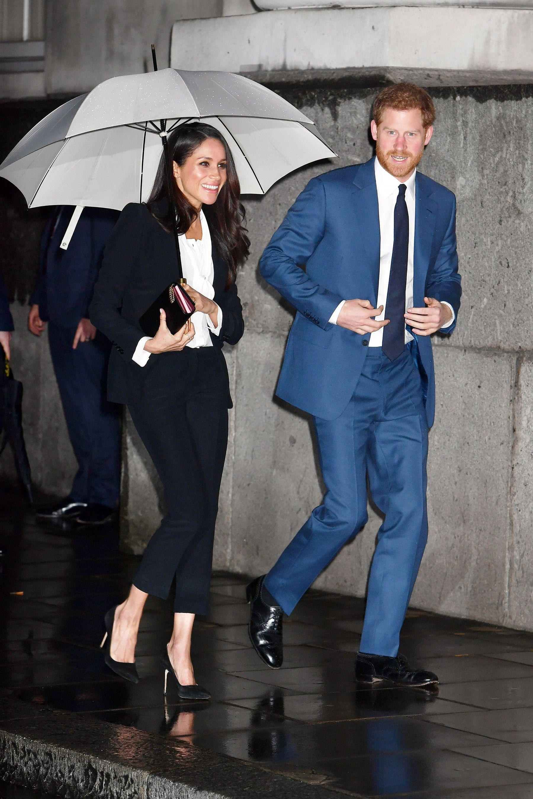 c33e95010e1e Meghan Markle Sparkles at Her First Awards Ceremony with Husband-to ...