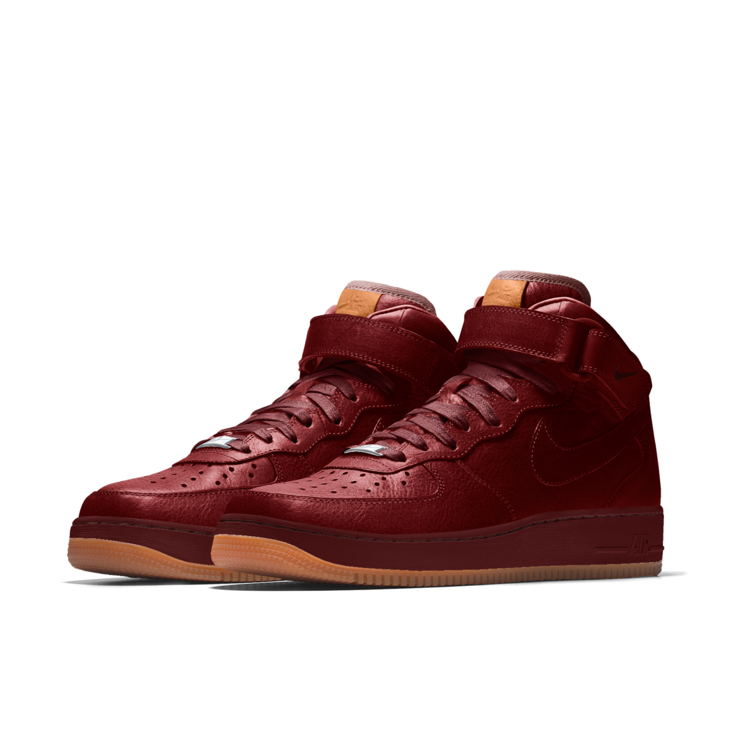 buy sale great look big discount Nike Air Force 1 Mid Premium Will Leather Goods iD Schoen ...