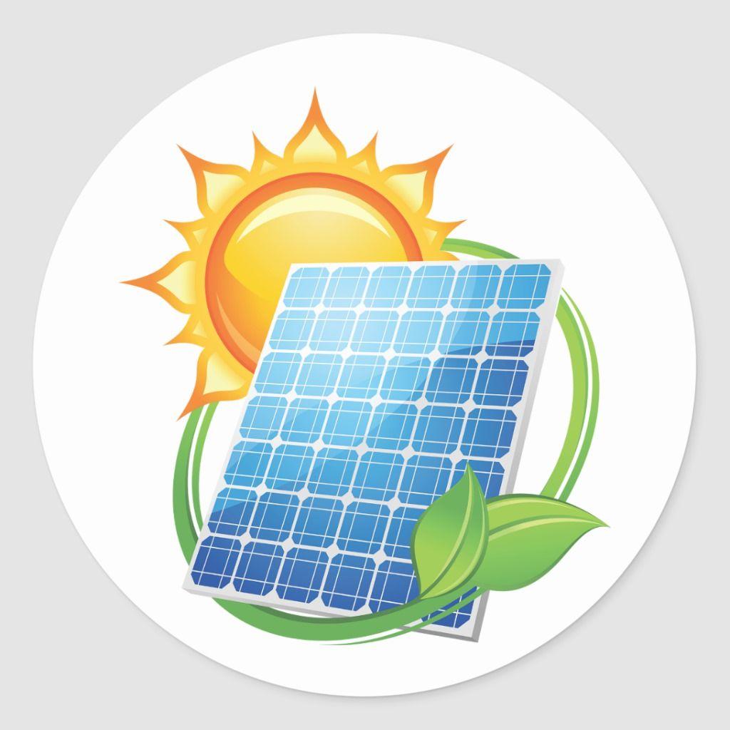 Solar Energy Stickers Zazzle Com In 2021 Solar Energy Projects Solar Energy Design Solar Energy Panels