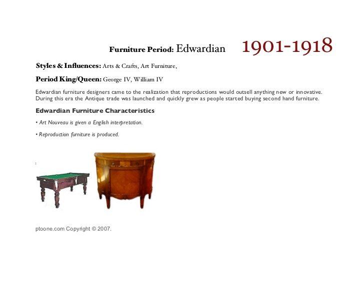 1901 1918 furniture period edwardian styles in uences arts rh pinterest com  1918 furniture mall