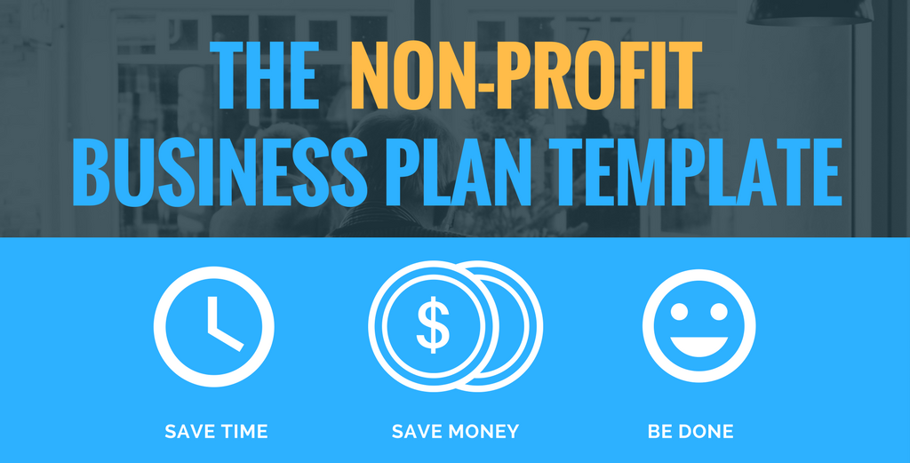 NonProfit Business Plan Template Growthink Business