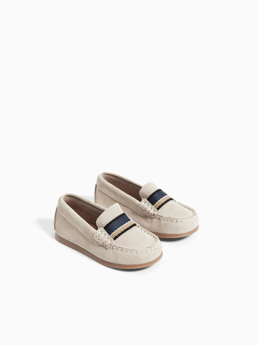 LEATHER LOAFERS WITH BAND - View All