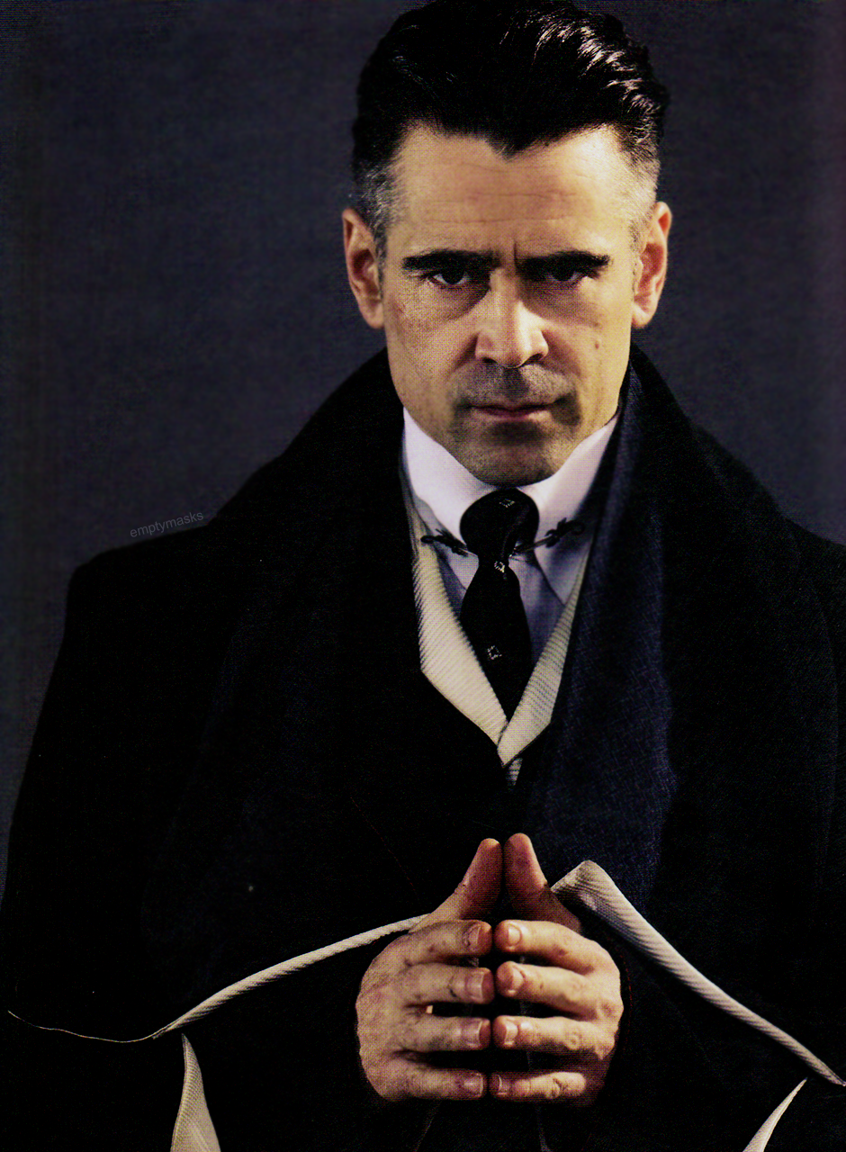 Worrying Means You Suffer Twice Fantastic Beasts Colin Farrell Harry Potter Fantastic Beasts