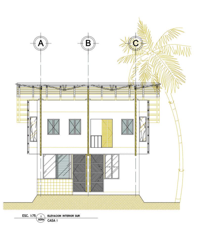 galera de casa de playa en guatemala christian ochaita roberto glvez 21 - Beach House Drawings