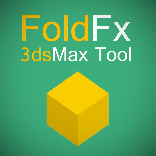 FoldFX v1 0 for 3ds Max 2010-2016 - Plugins Reviews and Download