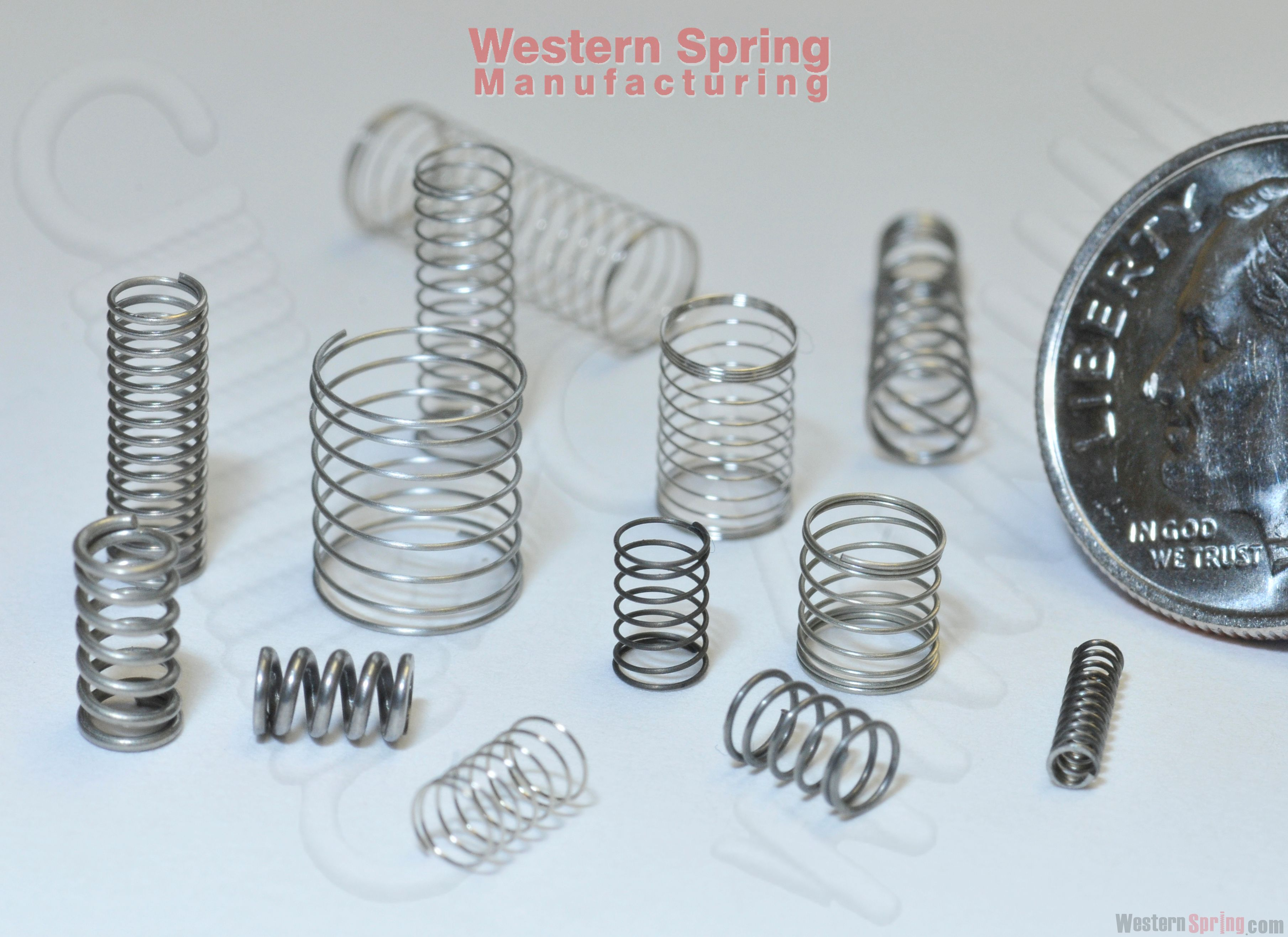 Precision Coil Springs. Micro Springs, Fine Wire Springs, Western ...