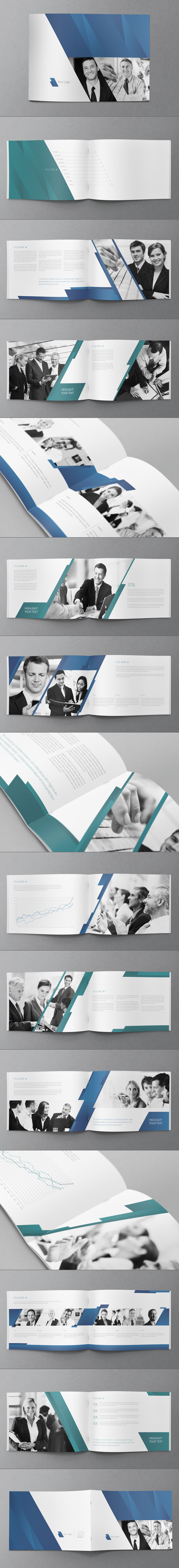 Business Brochure Design by Abra Design