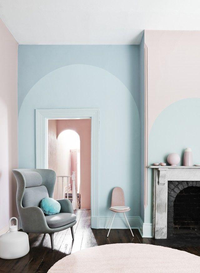 According To Dulux, The Future Is Pink And Green | Farbgestaltung Wände,  Pastell Und Wände