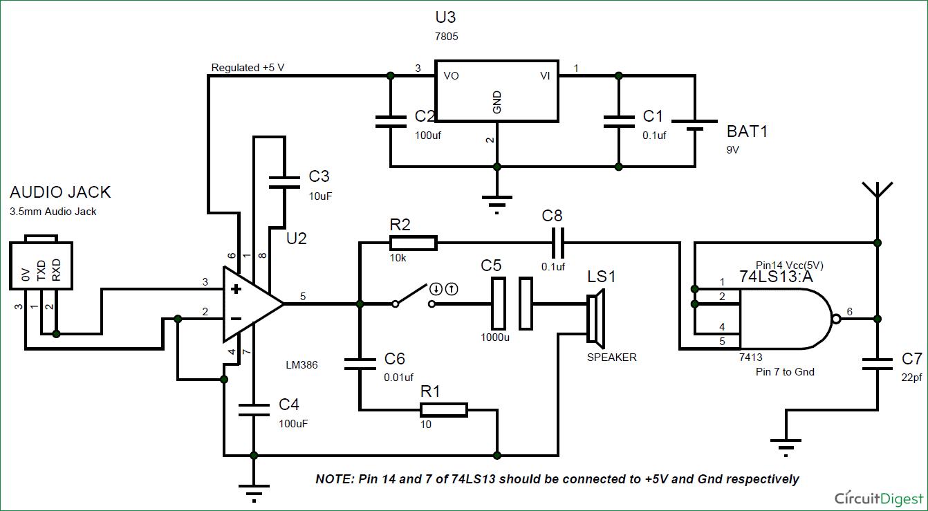 rf transmitter circuit design
