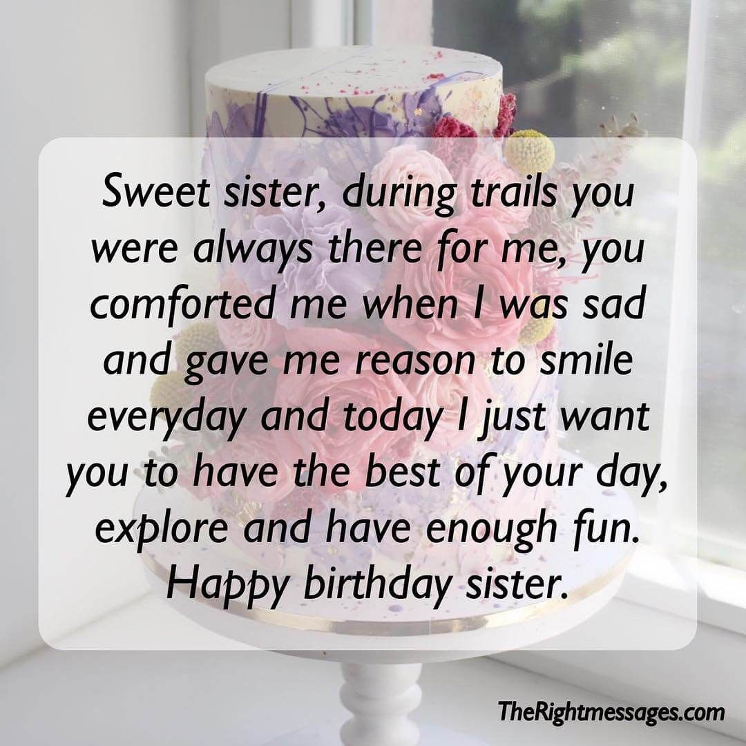 Birthday Wishes For Friends And Your Loved Ones Birthday Wishes To Sister Happy Birthday Wishes Sister Birthday Greetings For Sister Happy Birthday Elder Sister