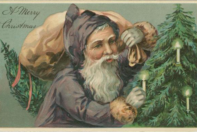 50 Vintage Christmas Cards From the New York Public Library Archives | Mental Floss