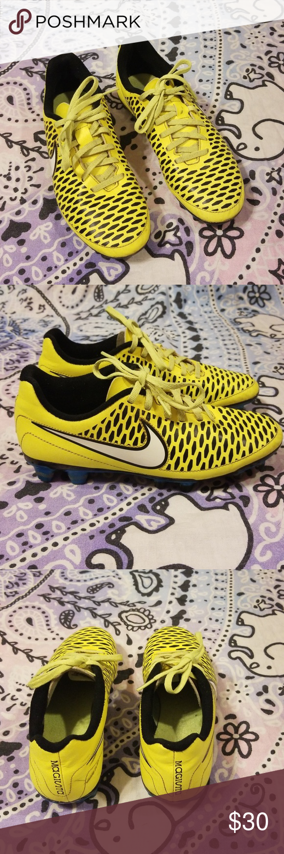 af19a8d63 Nike Magista Soccer Cleats Neon Yellow 7.5 Overall nice condition! Small  scuff toward the back of the shoe. NIKE Magista 658570-700 Nike Shoes  Athletic ...