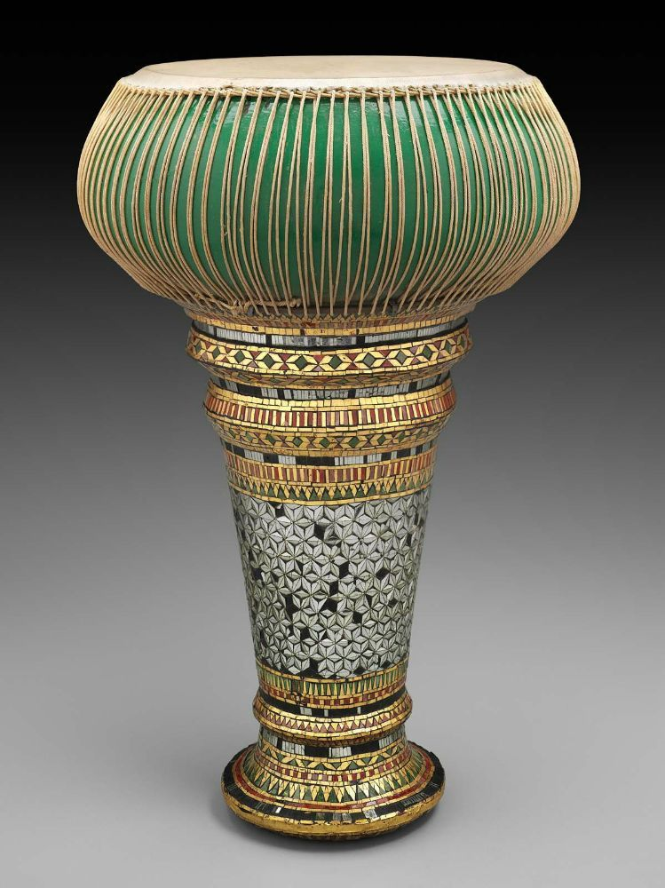 goblet drum thon chatri early 20th century southeast asia musical instruments. Black Bedroom Furniture Sets. Home Design Ideas