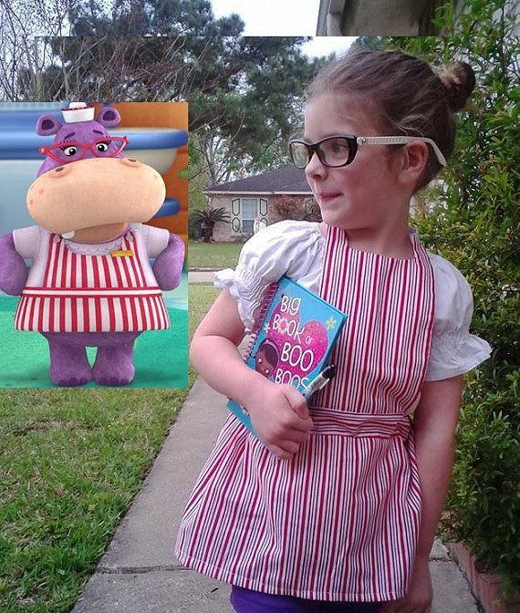 Nurse Hallie From Doc Mcstuffins Apron My Creationsetsy Shop